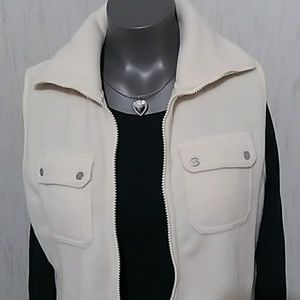 Chaps Jackets & Coats - Chaps cream color vest